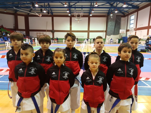 La torremolinense Isabel Almoguer se hace con el oro en la categoría kata benjamín del Campeonato Provincial de Karate