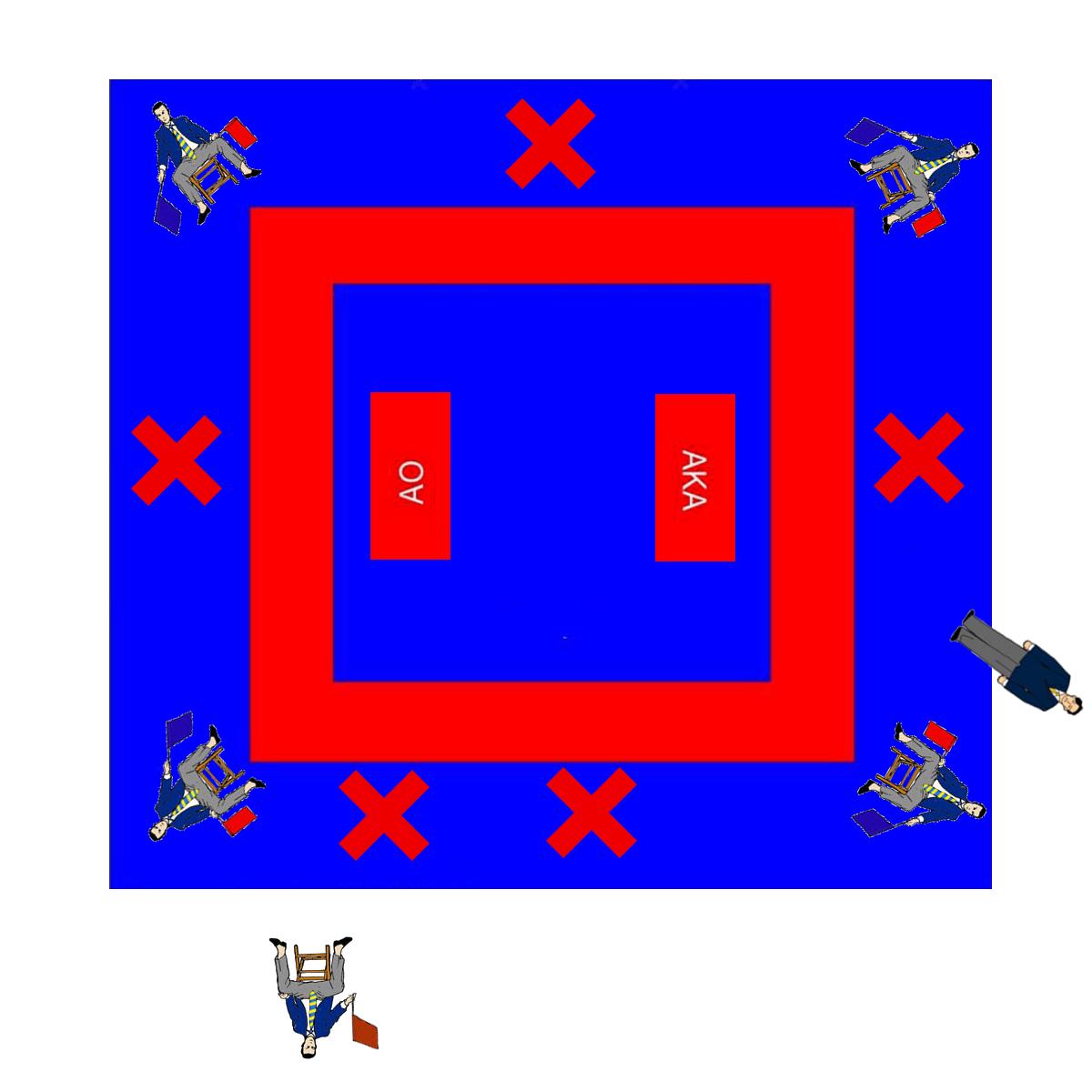 posicion arbitro