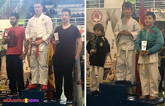 Cele García Peula se proclama campeón de karate