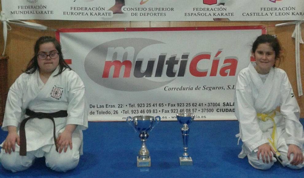 Beatriz Pérez se consolida como campeona regional de karate en la modalidad intelectual Down