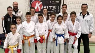 El karate de l'Horta triunfa en competición