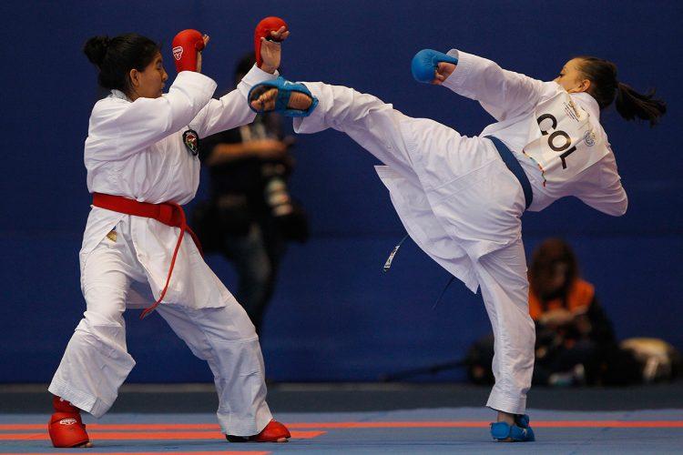 Bogotá se impuso en el Campeonato Nacional de Karate Do