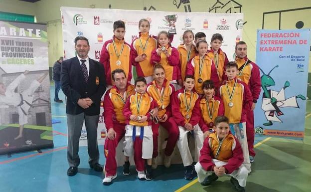 Castilla y León, tercera en el torneo internacional de Cáceres