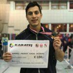 Amargós y su primera medalla
