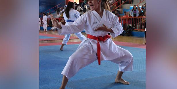 Karatecas entran en acción en el Campeonato Nacional