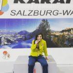 Rocío Sánchez se alza con el bronce en Salzburgo