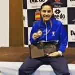 La cordobesa Rocío Sánchez, campeona de España de kumite