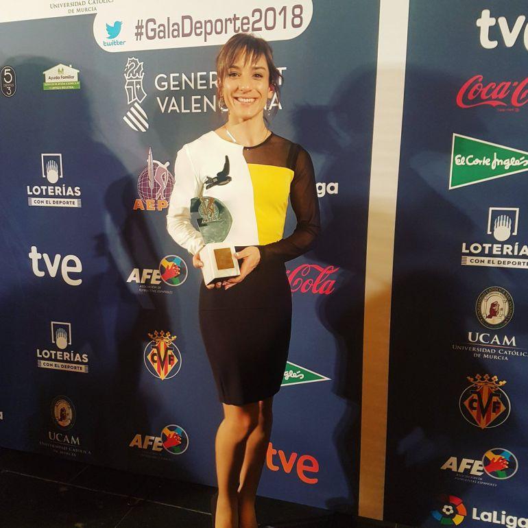 Otro premio para Sandra Sánchez