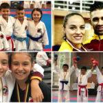 Destacada participación del Karate tolimense en Campeonato Nacional en Bogotá