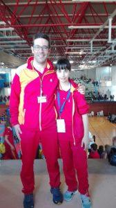 Claudia García, conquista por segundo año consecutivo el título de campeona de España de Karate