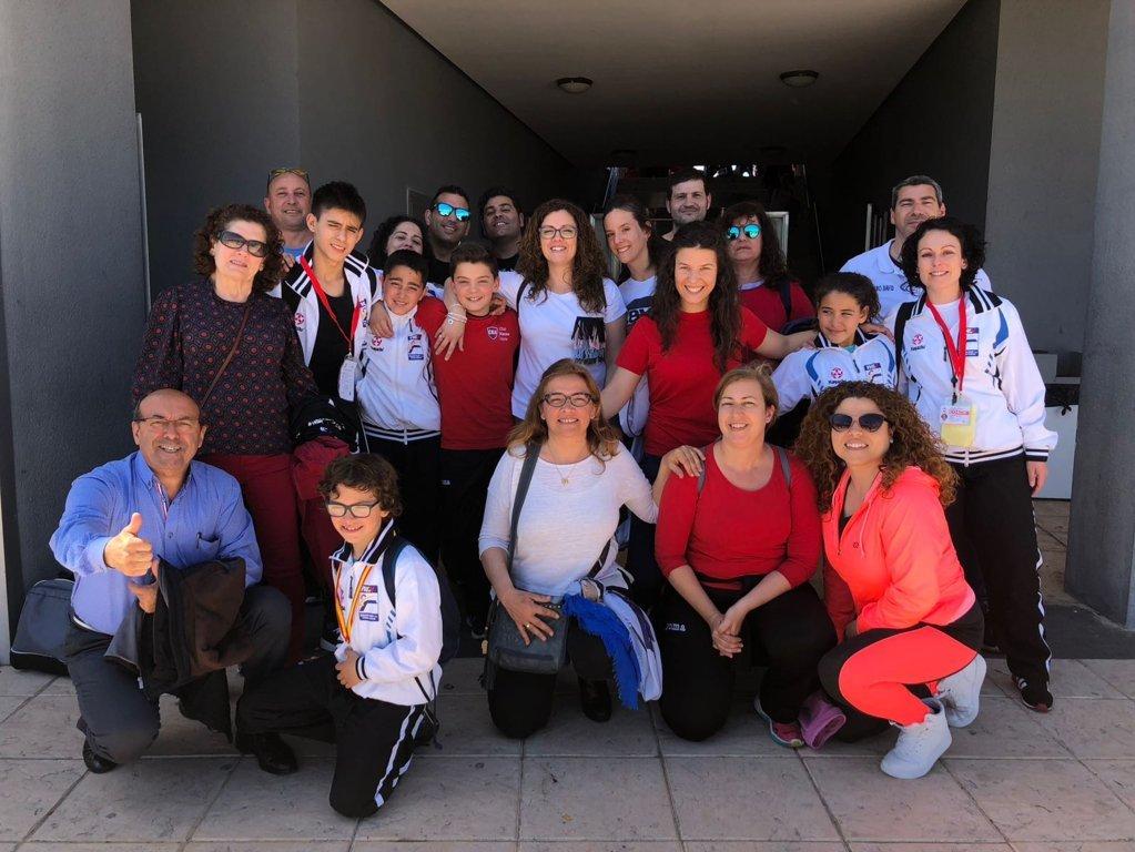 Club Karate Alzira medalla en el Campeonato España de Karate