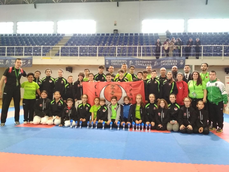 Gran actuación del Club Dakentai y la Escuela Municipal en el Campeonato de Andalucía