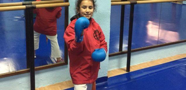 Marta Vázquez Colorado participará en el Campeonato de España de Kárate