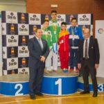 Nicolás Rodríguez, bronce en el Campeonato de España de Kárate