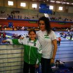 Noa del Valle, tercera en el Campeonato de España de Kárate