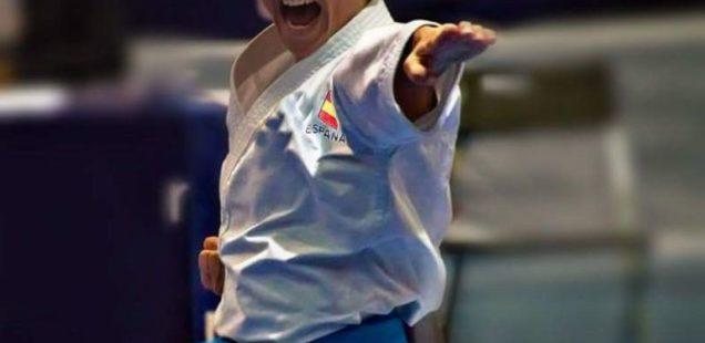Sandra Sánchez se cuelga la Medalla de Plata en Rabat