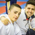 Alberto Moreno Jiménez, campeón de la Liga Nacional 2018 de Karate en categoría Junior