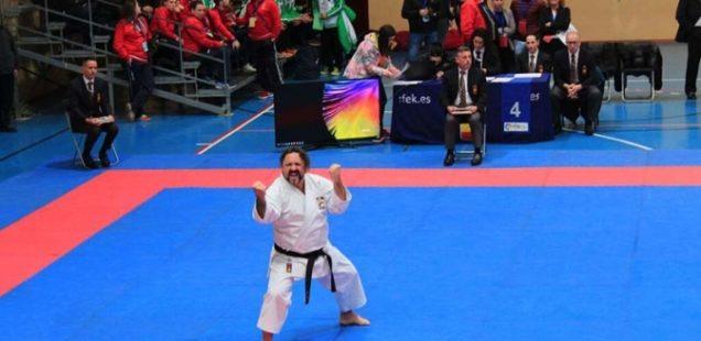 El sedavienc Félix Escribano, Campeón de España de Karate en la modalidad de Kata Discapacidad Física