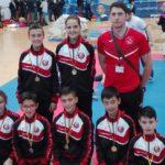 Oro en kata y kumite para el Kyoto Salamanca en el Regional