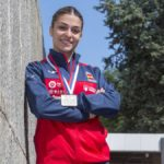 Marta García, el futuro del karate