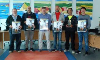 Torneo de kárate en el polideportivo de Luanco