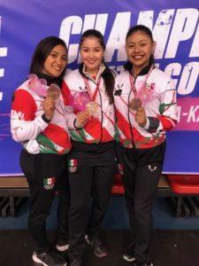 Cinthia de la Rue se colgó el bronce en el Panamericano de Karate
