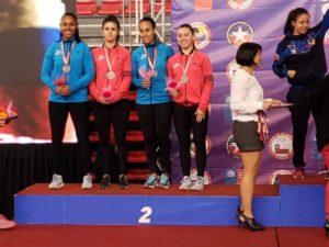 Ticas ganan histórica medalla de plata en Panamericano de Karate