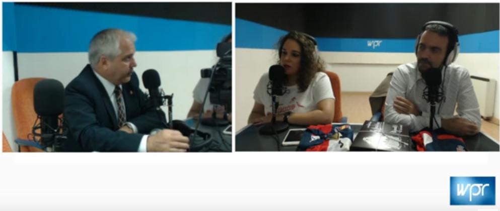 Antonio Moreno entrevistado en World Press Radio