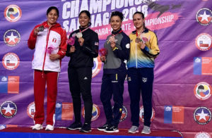 Jacqueline Factos se sube al podio en Campeonato Panamericano de karate en Chile
