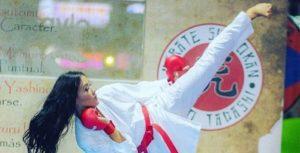 Omaira Molina se colgó el bronce para Venezuela en el Panamericano de Karate