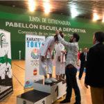 El centro Shotokan de Mérida vence en el Campeonato de Extremadura de kata y kumite