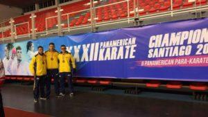 Bronce para Samuel Giraldo en el Campeonato Panamericano de Karate
