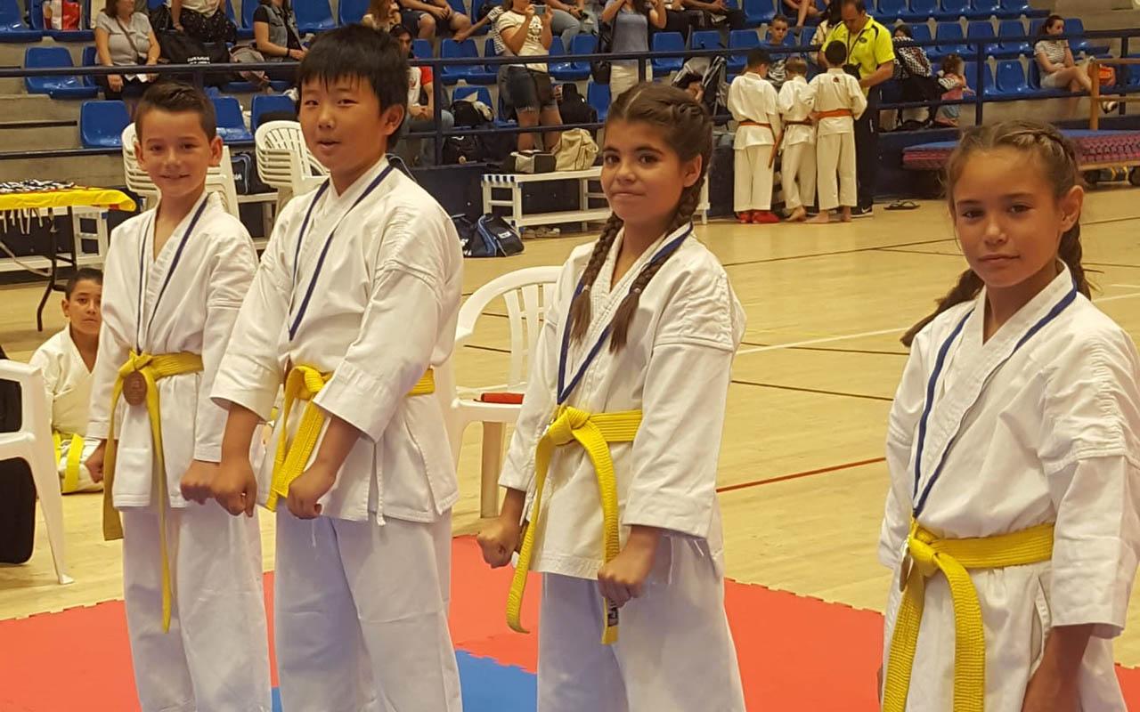 El Seishin logra 22 medallas en el Trofeo Hogueras de Alicante