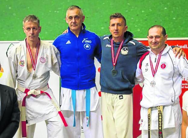 Asturias se trae cinco medallas del Campeonato de España de Veteranos