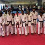 Se entrena en Madrid selección de Karate para participar en juegos Centroamericanos