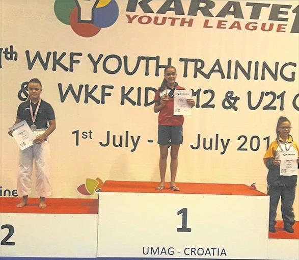 Paola García Lozano sigue brillando en Europa con su tercer título internacional