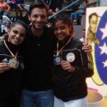 Valerya Hernández conquista tres medallas en la Copa Internacional Simón Bolívar