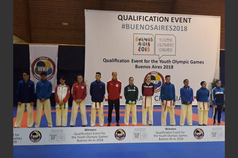 De La Roca será el primer karateca guatemalteco en Juegos Olímpicos