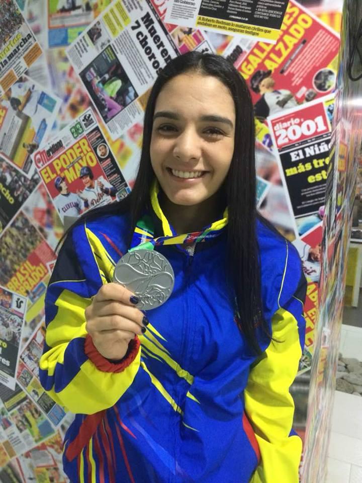 Andrea Armada cumplió uno de sus sueños en Barranquilla