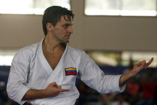 Antonio Díaz quiere reinar en el podio del próximo Mundial de Kárate