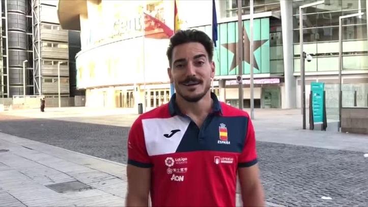 Damián Quintero ejerce de embajador del Mundial de Madrid