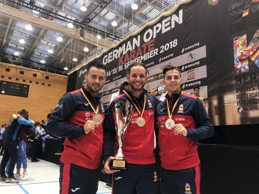 El valenciano Pepe Carbonell logra la plata por equipos en la Premier League de Berlín