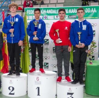 El Goju Ryu de Torremolinos arrasa en el Campeonato de Andalucía