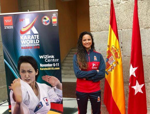 Carlota Fernández, a por el Oro en el Mundial de Madrid