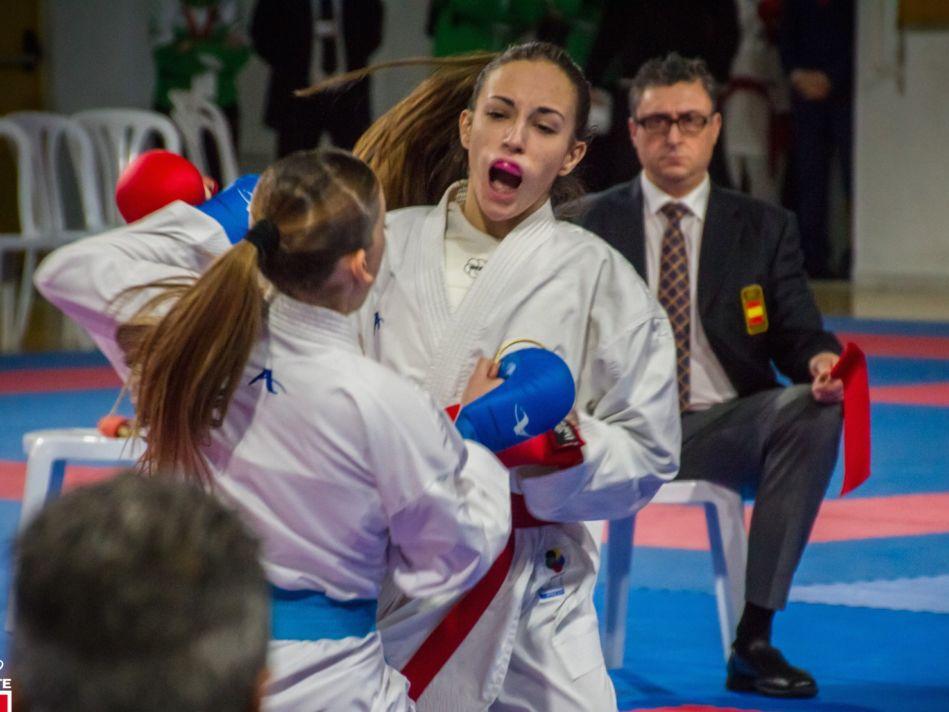 Plata para Nidia García y bronce para Patricia Maldonado en el Campeonato de España de karate