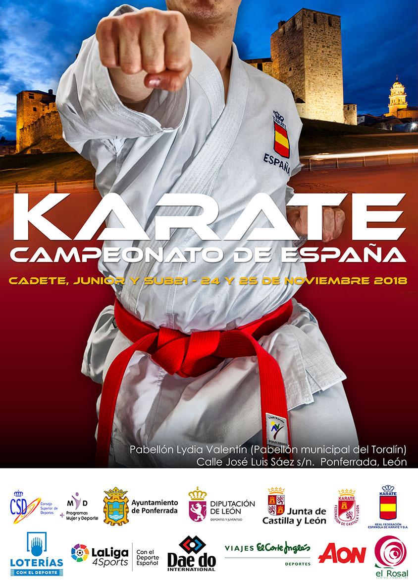 Campeonato de España de Kárate en Ponferrada