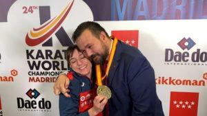 El Gobierno regional acompaña y felicita a Sandra Sánchez en el logro del oro en el Mundial de Kárate