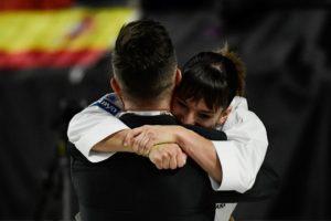 Sandra Sánchez, campeona mundial