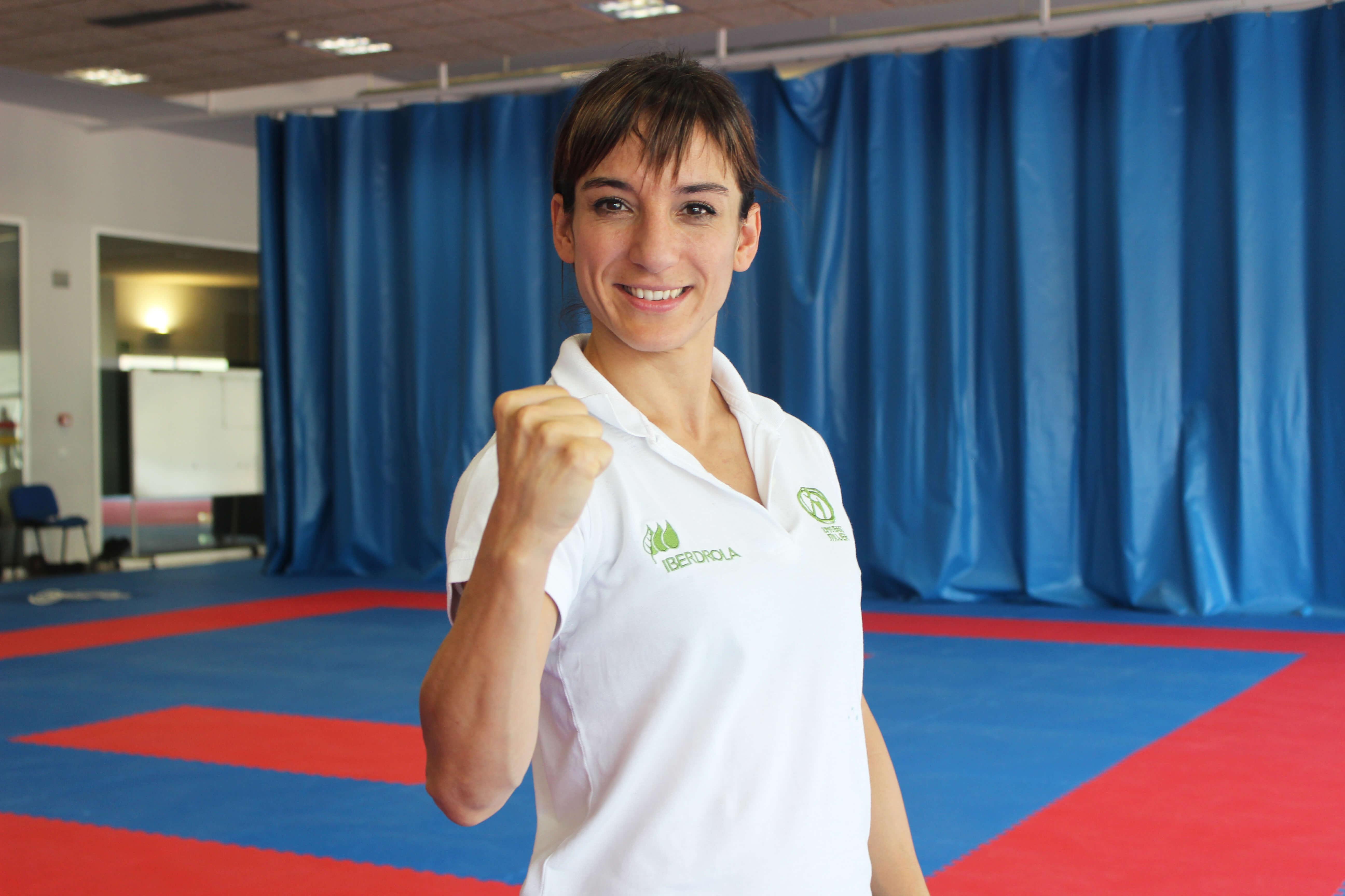 Sandra Sánchez, finalista para ser deportista del año no olímpica de 2018