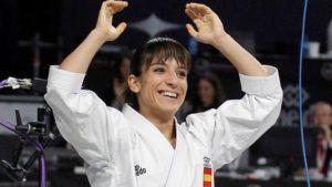 Sandra Sánchez, campeona mundial de kata